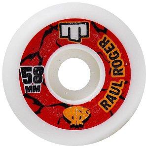 Roda Moska 58mm Raul Roger (com 4 rodas)