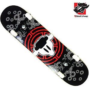 Skate Montado Black Sheep Profissional Mira