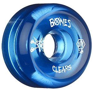 Roda Bones Original SPF Clears 58mm (com 4 rodas)