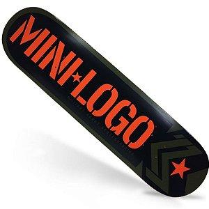Shape Importado Mini Logo Large Bomb 8.25 Verde Musgo + Lixa Importada Jessup