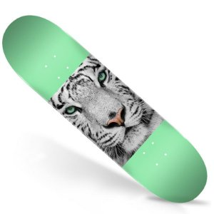 Shape Importado Mini Logo Animal 8.25 Tigre Branco + Lixa Importada Jessup