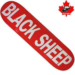 Shape Black Sheep Hard Maple Arial Red 8.25 (Grátis Lixa Jessup Importada)