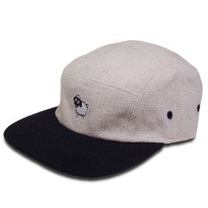 Boné Black Sheep Five Panel Ovelha Bege