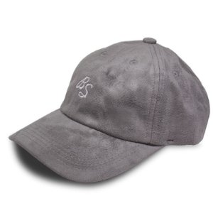 Bone Black Sheep Dad Hat Sigla Cinza
