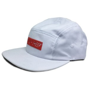 Boné Black Sheep Five Panel  Escrito Branco