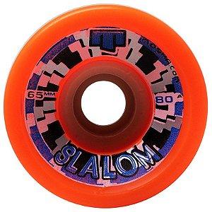 Roda Moska Slalom 65mm 80A (com 4 rodas)