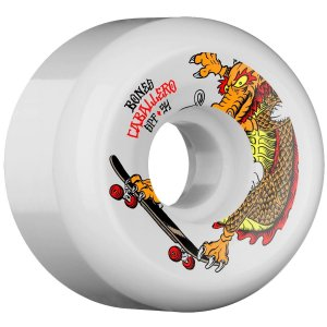 Roda Bones Original SPF Pro Caballero Dragon 54mm 84B Branca