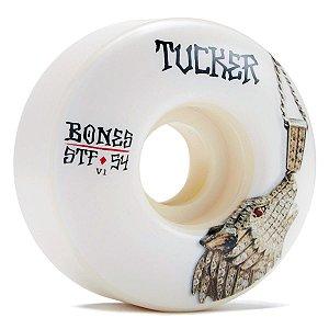 Roda Bones Original STF Tucker Wolf 54mm 83B V1. (com 4 rodas)