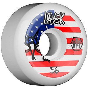 Roda Bones Original SPF Lasek USA 56mm 84B. P5 ( jogo 4 rodas )
