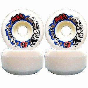 Roda Next Max Skate 52mm 100A ( jogo 4 rodas )