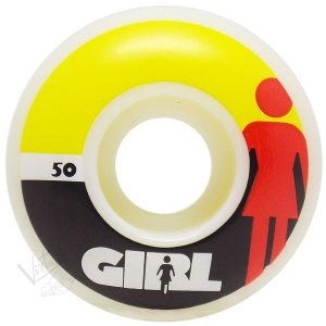 Roda Girl Skateboard Mega OG 50mm ( jogo 4 rodas )