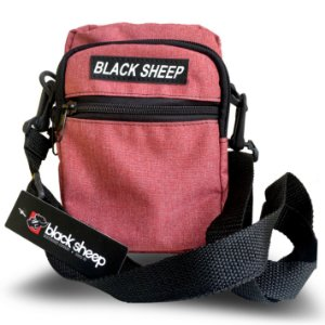 Shoulder Bag Red Black Sheep
