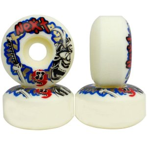 Roda Next Max Skate 53mm 100A ( jogo 4 rodas )