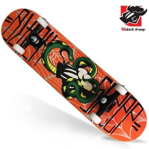 Skate Montado Black Sheep Profissional Snake
