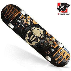 Skate Montado Black Sheep Semi-profissional Ovelha Pichando