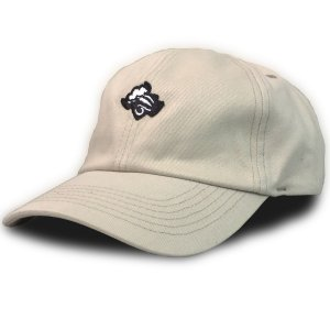 Boné Black Sheep Dad Hat Logo Bege
