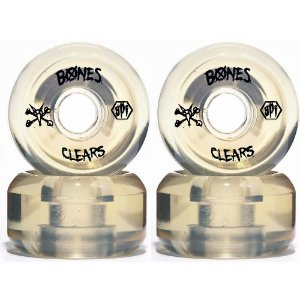 Roda Bones Original SPF Clears 60mm Natural (com 4 rodas)