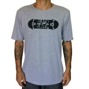 Camiseta Black Sheep Molde Cinza