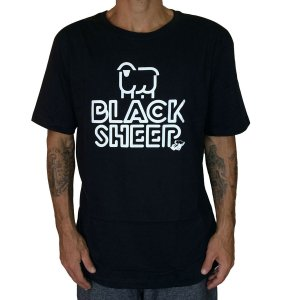 Camiseta Black Sheep Small Preta
