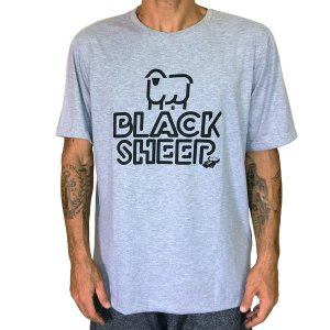 Camiseta Black Sheep Small Cinza