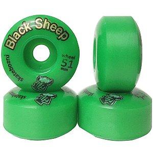 Roda Black Sheep BS Color 51mm  Verde