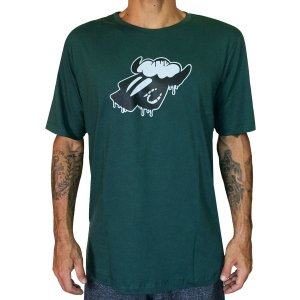Camiseta Black Sheep Derretendo Verde
