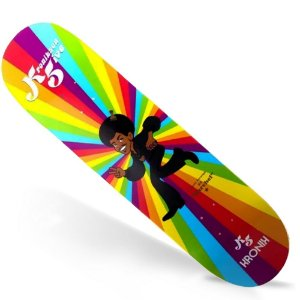 Shape Kronik Skate Maple Retrô Marcelo Five 8.125 (Grátis Lixa Importada)