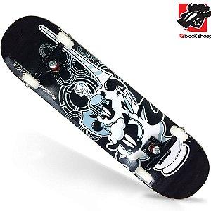 Skate Montado Black Sheep Semi Profissional Medieval