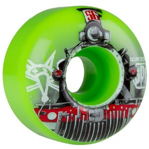 Roda Bones Original SPF Schroeder Train 56mm 84b V3 (com 4 rodas)
