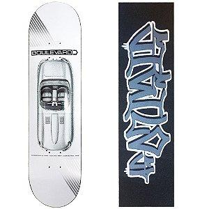 Shape Importado Boulevard Skate Tiago Lemos Carrera 8.0 (Grátis Lixa Importada Sigilo)
