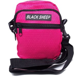 Shoulder Bag Black Sheep Rosa Fluor