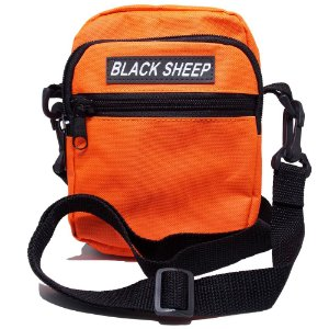 Shoulder Bag Black Sheep Laranja Fluor