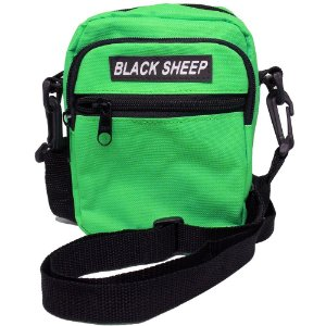 Shoulder Bag Black Sheep Verde Fluor
