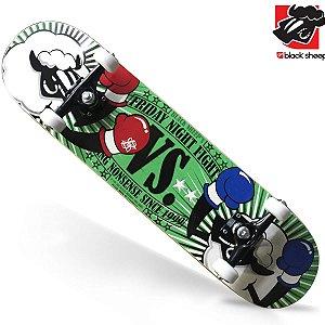 Skate Montado Black Sheep Profissional Ovelha Boxer