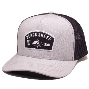 Boné Black Sheep Trucker Aba Curva Painel