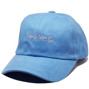 Boné Black Sheep Dad Hat Escrito Azul Claro