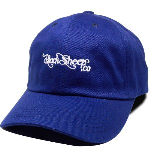 Boné Black Sheep Dad Hat Escrito Azul Escuro