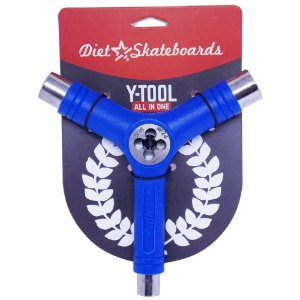 Chave Para Montar Skate Diet Skateboard Cossinete Azul