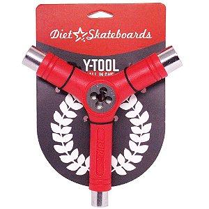 Chave Para Montar Skate Diet Skateboard Cossinete Vermelho