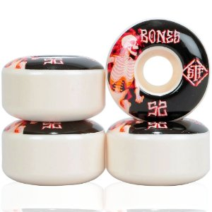 Roda Bones Original STF Blaze 52mm 83B V1. (com 4 rodas)