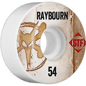 Roda Bones Original STF Raybourn Vintage 54mm 83B V3. (com 4 rodas)