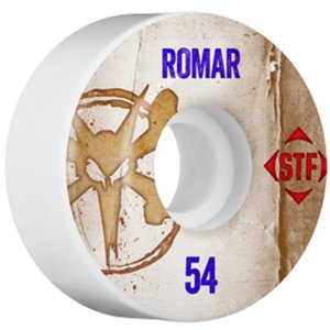 Roda Bones Original STF Romar Vintage 54mm 83B V3. (com 4 rodas)
