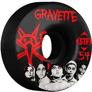Roda Bones Original Stf Gravette Seed 54mm 83b v1. (com 4 rodas)