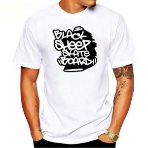 Camiseta Black Sheep Skate Urban Branca