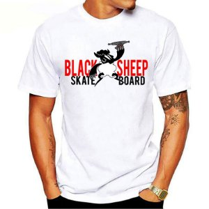 Camiseta Black Sheep Skate Truck Branca
