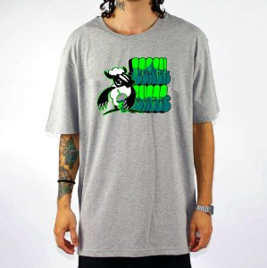Camiseta Black Sheep Skate Grafite Cinza