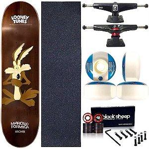 Skate Completo Profissional Shape Maple Kronik 8.0 Coyote Next