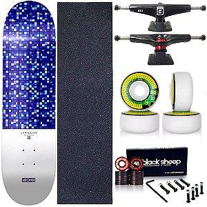 Skate Completo Profissional Shape Maple Kronik 8.0 Blessed Next