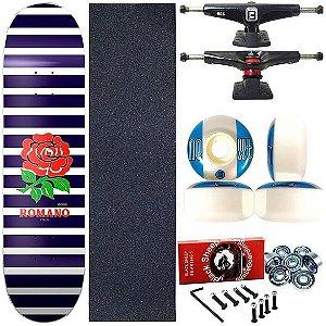 Skate Completo Profissional Shape Maple Kronik 8.0 Romano