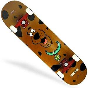 Skate Montado Kronik 8.0 Scooby Doo Brown